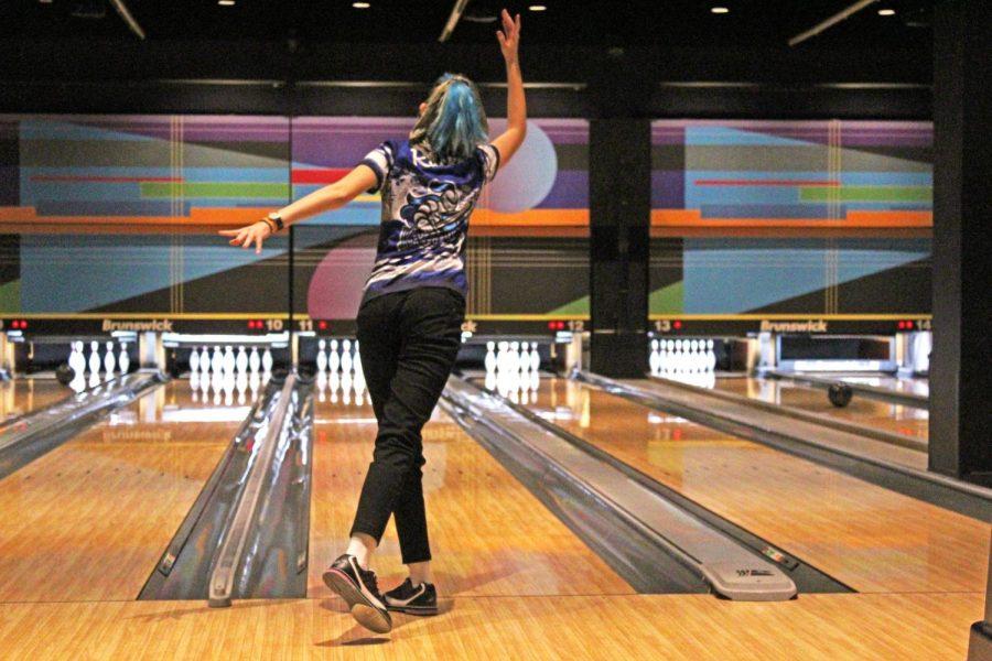 Girls bowling has it rolling