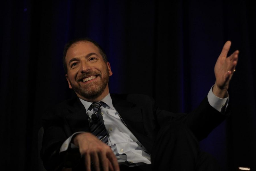 Several times during his keynote session, NBC broadcast journalist Chuck Todd challenged young journalists not to cover the presidential election but rather to cover city council and school board meetings because local matters have a more immediate and profound impact on people's lives.