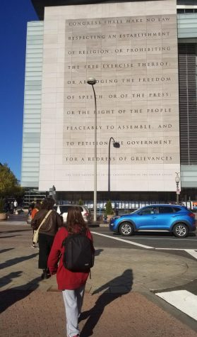 While in Washington DC for a national journalism conference this Thanksgiving break, Macjournalism students visited the Newseum, a museum that highlighted the importance of journalism in world history.