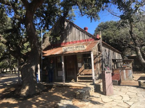 "The general store in ""downtown"" Luckenbach Texas. The store was build over 150 years ago, and is still open today. You can buy just about anything you could imagine with the Luckenbach logo on it. Photo by Max Rhodes"