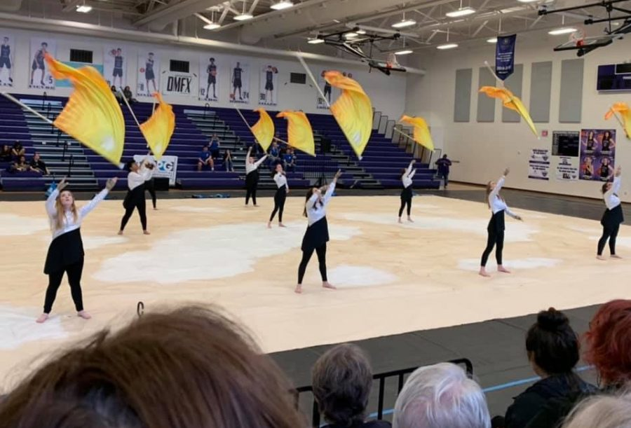 The+color+guard+scored+71.790+to+earn+seventh+place+in+the+Scholastic+Regional+A+division+of+the+Texas+Color+Guard+Circuit+competition+held+this+weekend+at+Cedar+Ridge+High+School+in+Round+Rock.+Mac+color+guard+members+expressed+regret+tonight+that+they+would+not+get+the+chance+to+place+higher+at+this+weekend%27s+now+cancelled+area+championships.++Photo+by+Elizabeth+Alford.