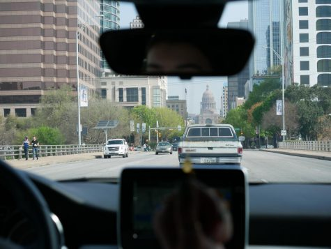 SAY BYE TO SOUTH BY: A ride through downtown Austin reveals no signage for the SXSW Festival that would have started this upcoming Friday. Tourist rates have dropped significantly because of both coronavirus fears and SXSW's cancellation.