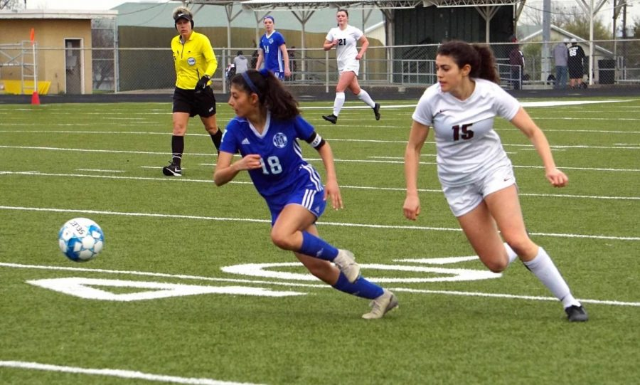 The Knights soccer season ended before their playoff run could begin, but Maldonado isn't done with soccer. She wants to try out for the Texas State team; she also hopes to coach soccer when her playing days are over.
