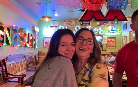 Junior Mia Arredondo poses with her grandmother, Barbara Walter, at her 17th birthday celebration. Walter attended McCallum High School in the 1960s with her future husband, William King. The two sent their children to McCallum, and now their granddaughter Mia Arredondo attends as well.