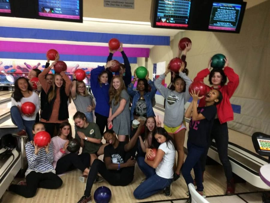 McCallum+dance+students+strike+a+pose+at+the+2015+Bowl-A-Thon+fundraiser+for+the+program.