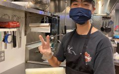 It took Kenta Asazu more than three months just to get the permits to sell onigiri. After peaking at 100 orders per week, Asazu now has a stable base of 50 orders per week. He plans to continue his business during the school year. Photo courtesy of Asazu.