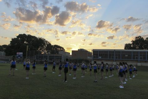 After a summer and a month of school apart, Blue Brigade can finally dance (together) if it wants to