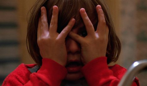 Young Danny Torrance in Stanley Kubricks classic horror movie
