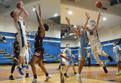 The high-flying Wades as seniors against Austin High and St. Andrew