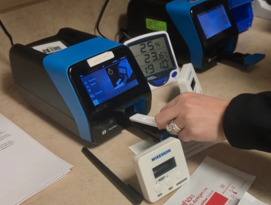 How COVID testing works in a free-standing ER
