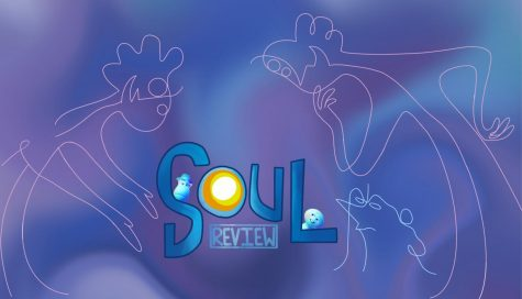 Soul, starring Jamie Foxx and Tina Fey brings breathaking animation, a few laughs and a relatable storyline a roll it  up all into a family friendly creaitve film. graphic by Grace Nugent