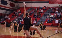 """FULL CIRCLE: For seniors like co-captain Addie Seckar-Martinez, shown here performing in the large ensemble contemporary dance for which the team won a Best in Class award, the site of the Central Texas Dance Festival at Georgetown's East View High School offered an opportunity to come full circle. East View was the site of the first competition the seniors entered as freshman four years ago.""""We have had a lot of events get canceled this year due to COVID and weather inconveniences, but being able to be out there dancing to an audience with my Blue Brigade family meant so much to me,"""" Seckar-Martinez said. """"I always tell the team to go out there and just have fun and that's exactly what we did."""" Reporting by Zazie Bryant."""
