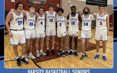 The Mac Class of '21 achieved a lot in its four years on the floor. As freshmen, the Class of 2021 tied for the district title under Coach Carlin Shaw. The varsity team made the playoffs when these players were sophomore and won the Marble Falls and Hays tournaments when they were juniors. In their senior year, this year, the Knights were Bi-District Champions and won the program's first playoff game in 15 years, which was also win No. 100 for head coach Daniel Fuentes.