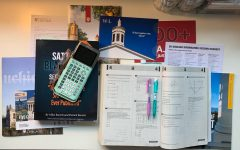 A period of cluttered desks, from college letters, to huge SAT prep books to homework is a constant for Mac juniors.