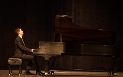 Lozano's entire recital was stellar, but he said his favorite part came as he has nearing the end of his second solo piece,