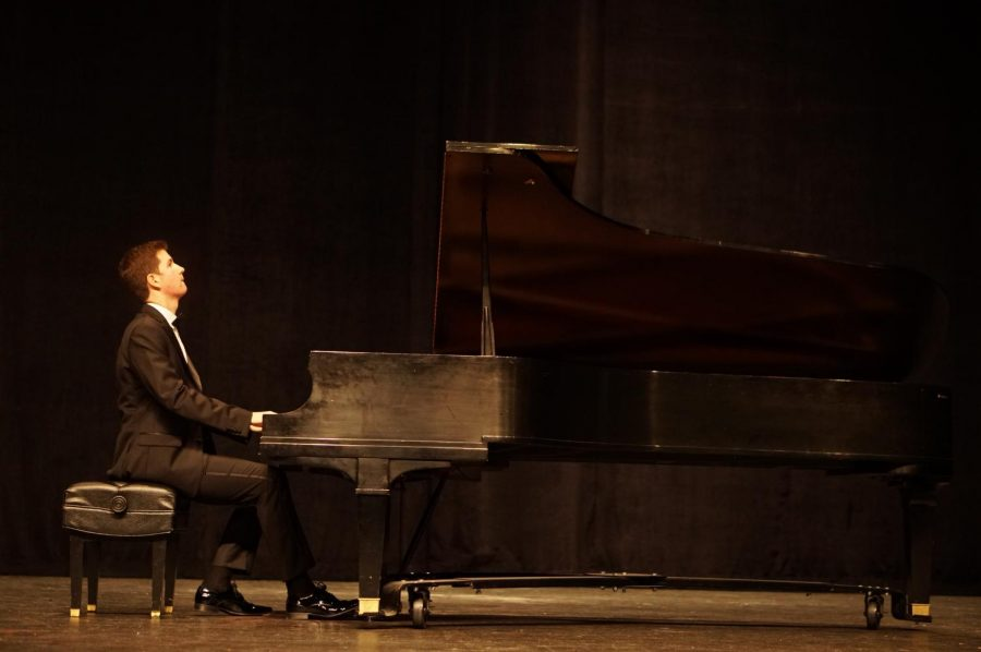 """Lozanos entire recital was stellar, but he said his favorite part came as he has nearing the end of his second solo piece, Kavierstucke, Op. 166. """"I had a lot of adrenaline flowing, and it was super fun, Lozano said of the moment. I felt like I was really in my zone."""""""