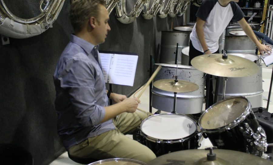 To the beat of his drum