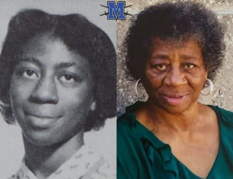 Described as courteous and soft-spoken in her high school days (left), Margie Hendricks Bedford gracefully carried the burden of bringing integration to Mac. As an adult (left), she made a positive impact on the Del Valle schools as a parent volunteer and on the Austin schools by teaching parenting classes.