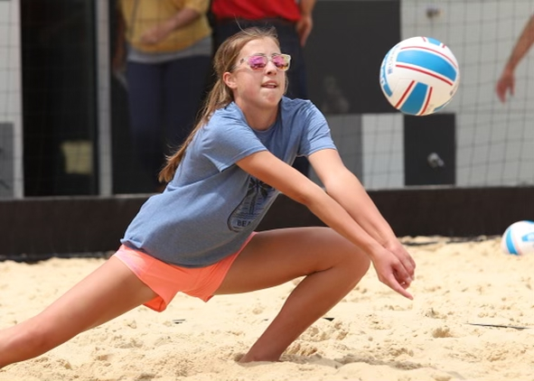 Andrew aims for collegiate future in the sand