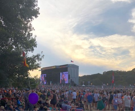 """A crowded scene from Austin City Limits in 2019. This years ACL will most likely look different. Senior Lila Plummer is relieved that mask and vaccine mandates are in place. I got [the tickets] before, but I had the idea that it wasn't 100% that I would be able to go, especially with the Delta cases being so bad right when I bought them,"""" Plummer said. """"But now with the precautions and cases seeming to get a little bit better, I do feel more comfortable and happy about that, because I worried I was gonna have to sell them."""""""